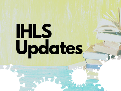 button: COVID-19 IHLS updates