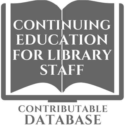Contributable Database: Continuing Education for Library Staff