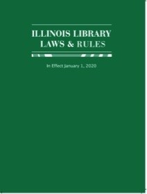 Illinois Library Laws & Rules book cover