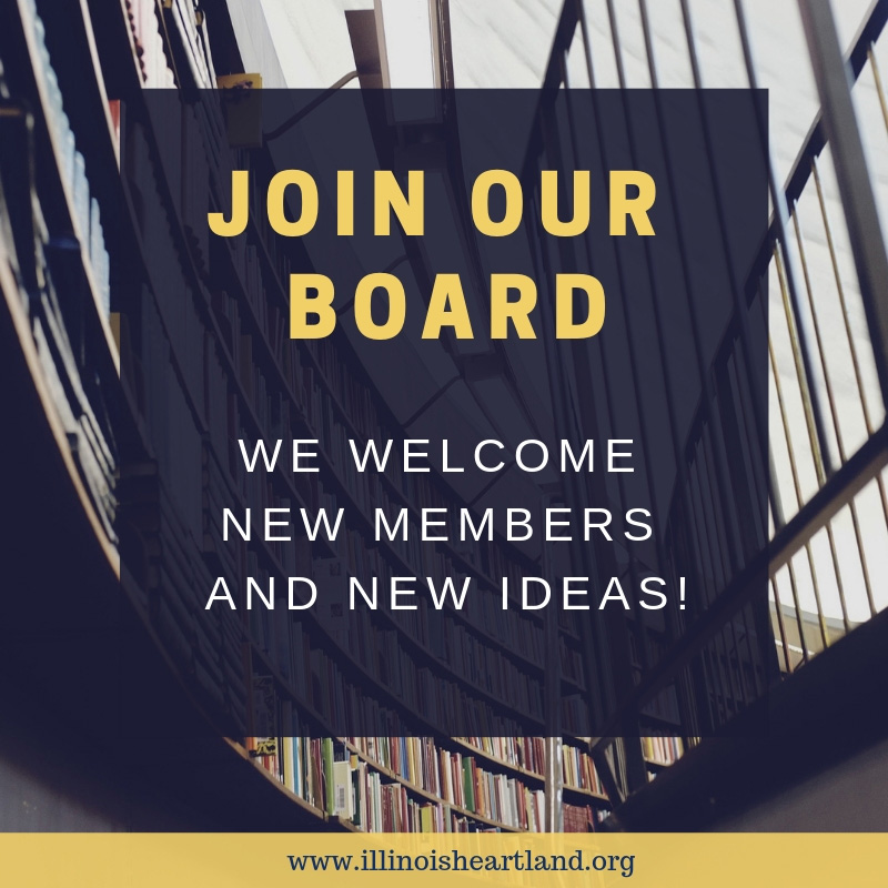 Join Our Board - We welcome new members and new ideas!
