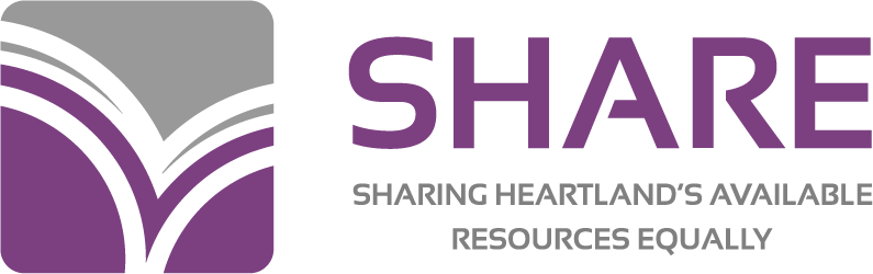 SHARE: Sharing Heartland's Available Resources Equally (logo)